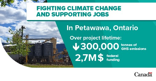fighting climate change, supporting jobs, 2.7 million in funding