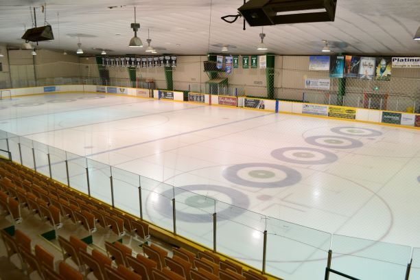Photo of ice pad at the Civic Centre