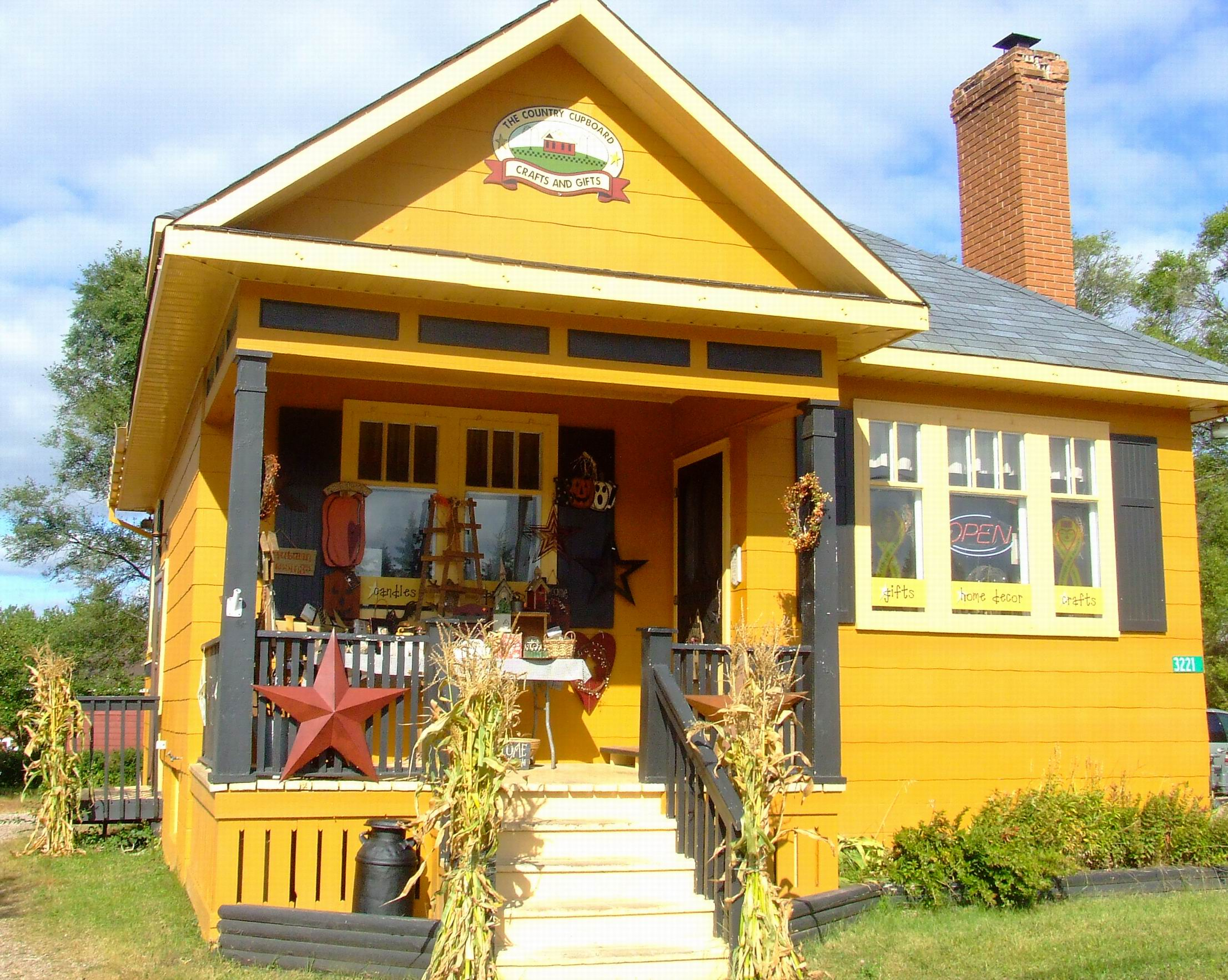the yellow cottage business The Country Cupboard