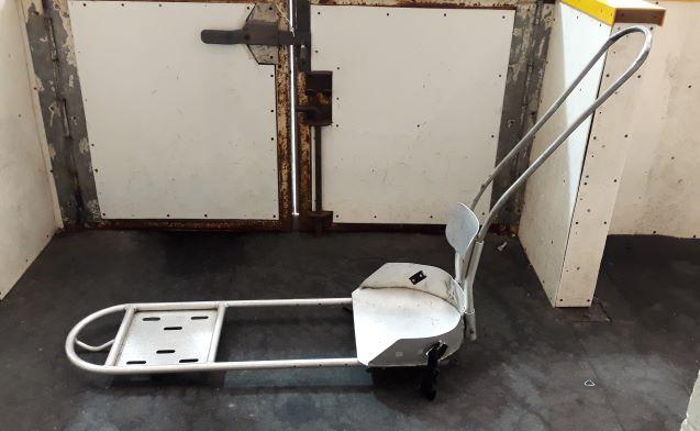 Photo of sledge hockey sled