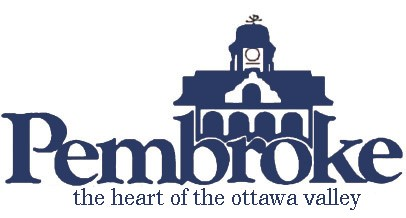 City of Pembroke logo in blue font