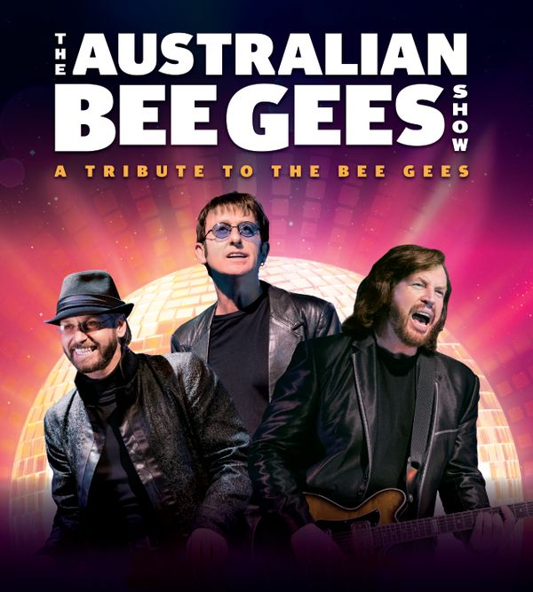 Poster for the Bee Gees Show