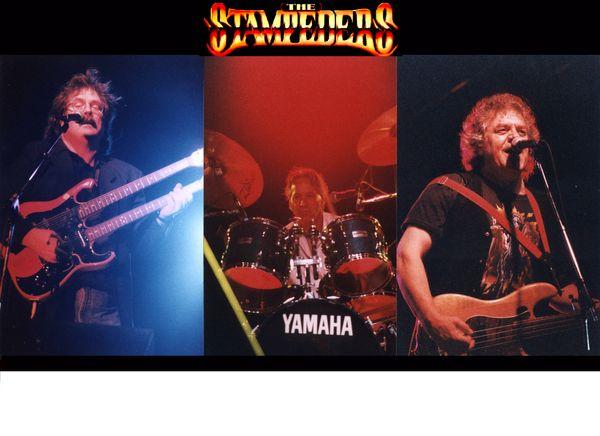 Poster of Stampeders performing on stage