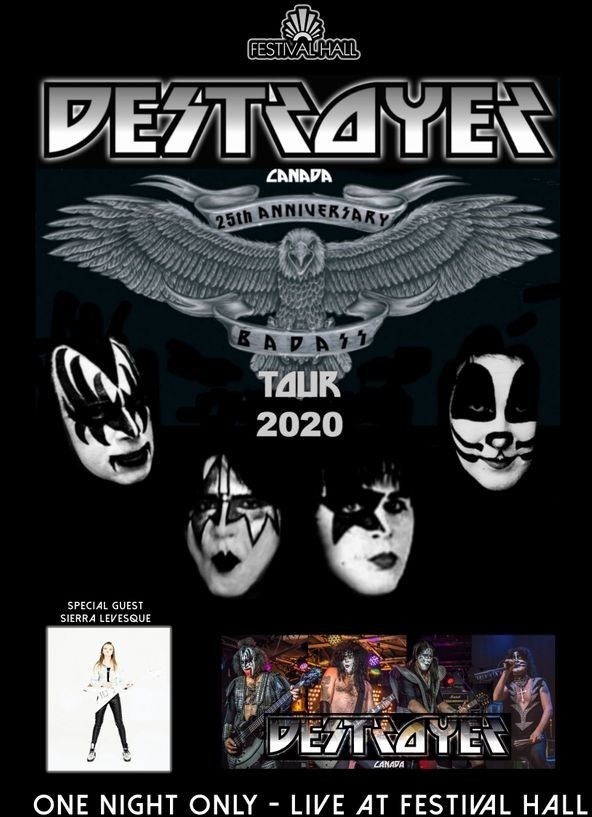 a KISS band poster