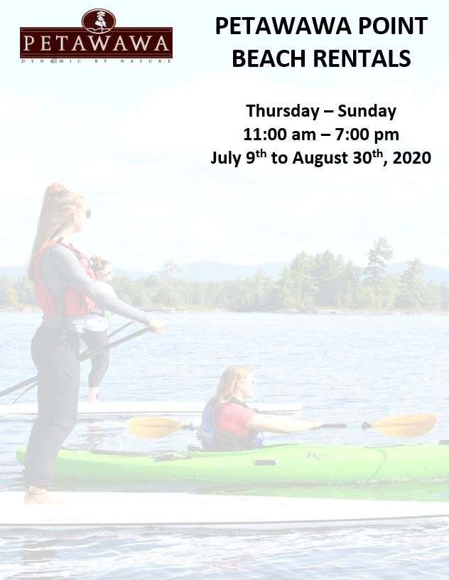 Image of 3 people on the water with rental dates