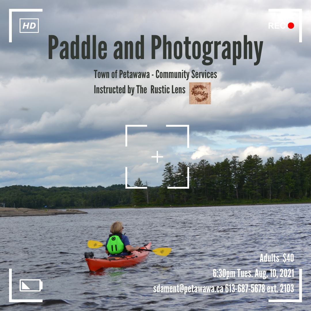 a kayaker on the ottawa river