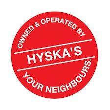 Hyska's Your Independent Logo