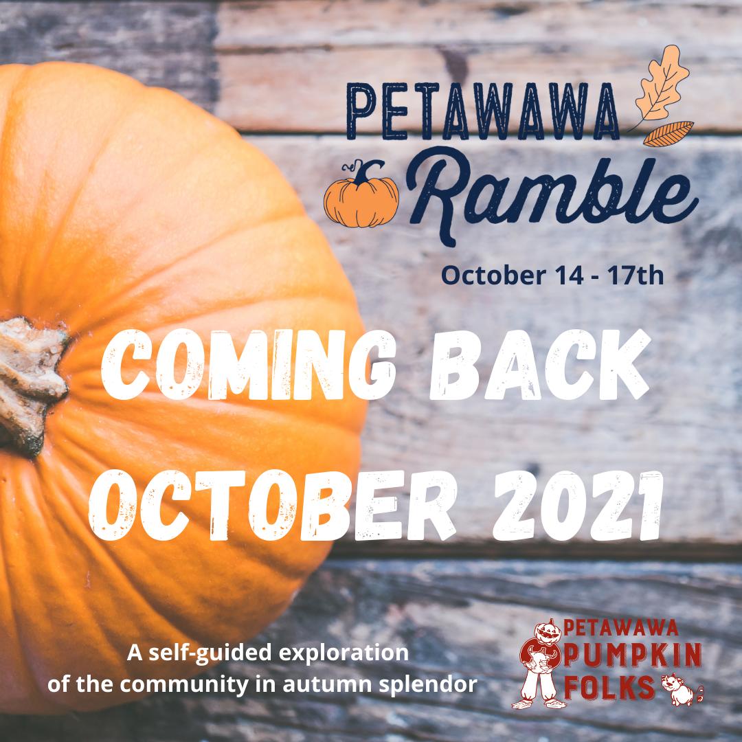 Petawawa Ramble Coming Back Graphic