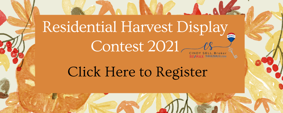 the button link to register for the Petawawa Ramble Residential Harvest Display Contest