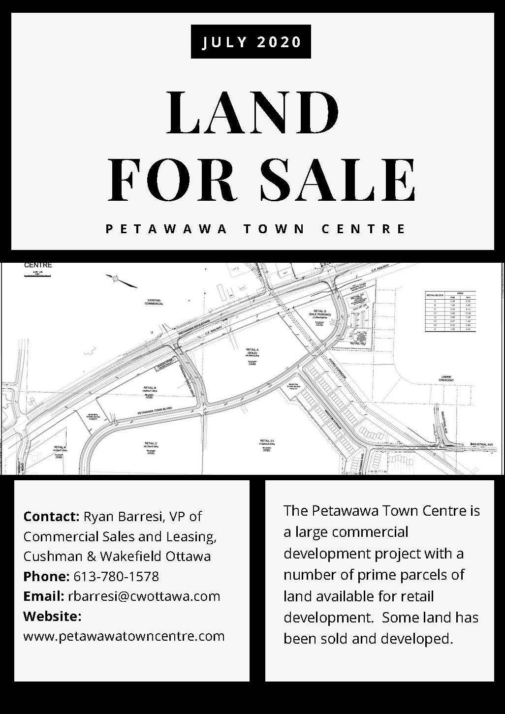 a real estate listing with land design images