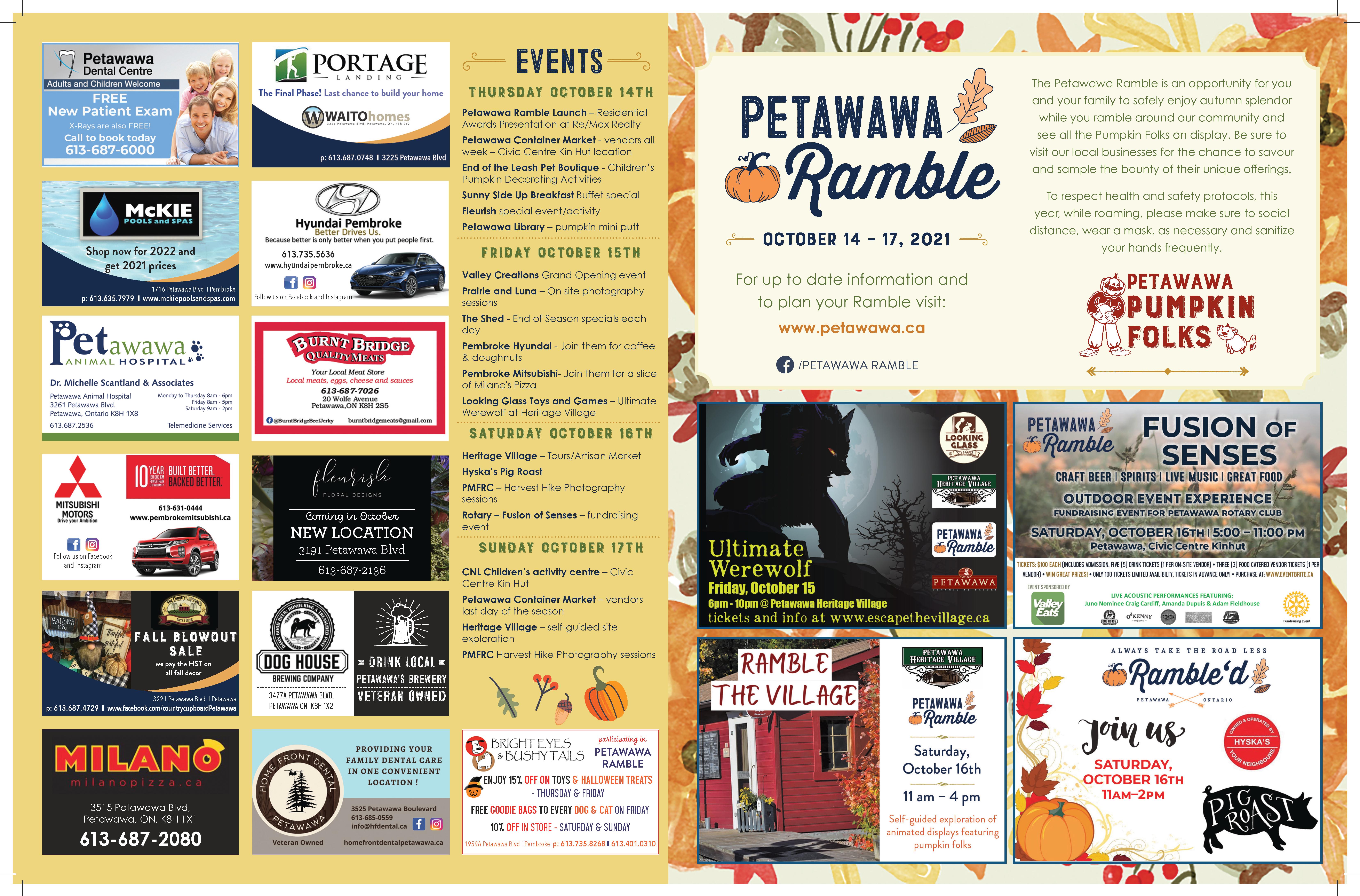2021 Petawawa Ramble Map page 1