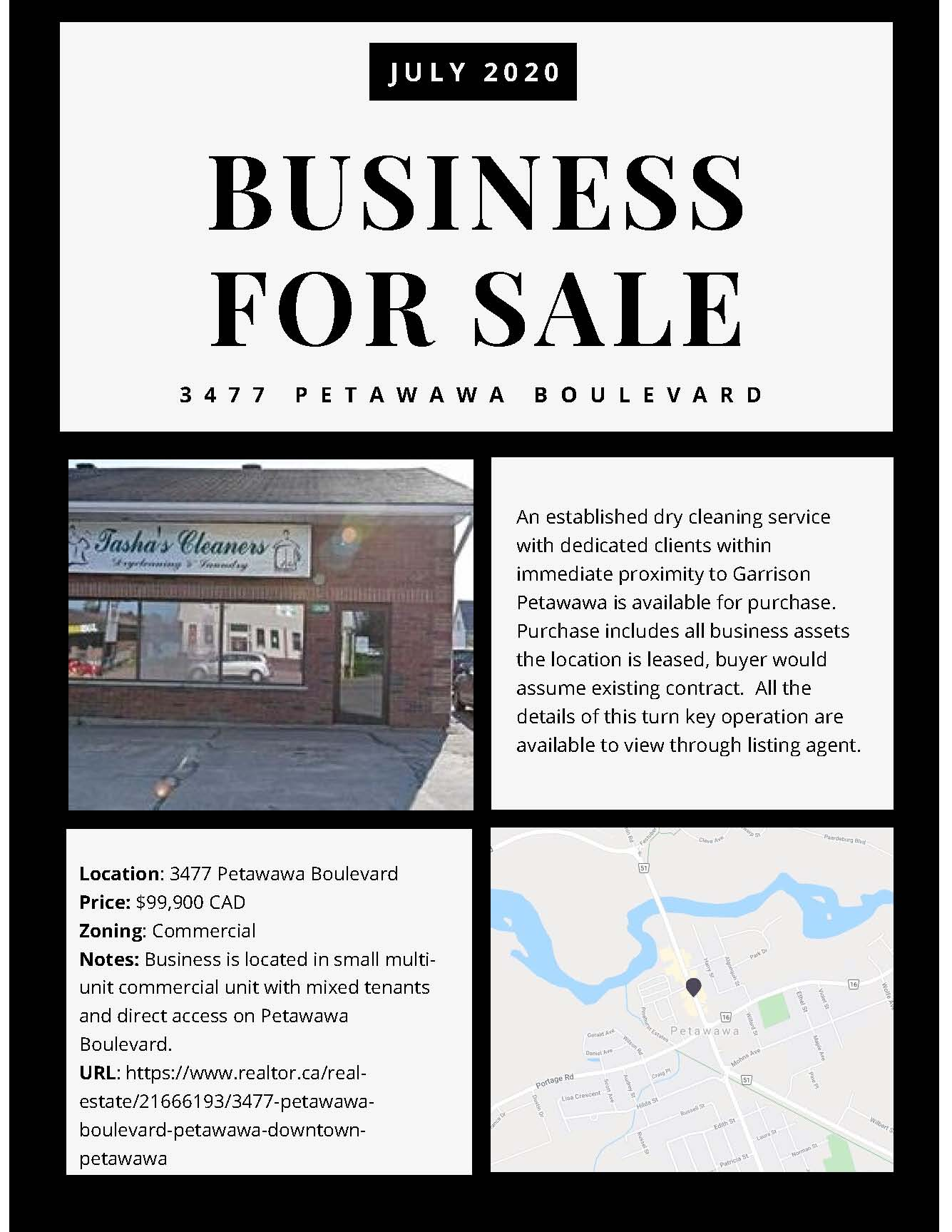 A commercial real estate listing