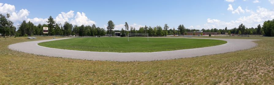 Image of track at Field 4