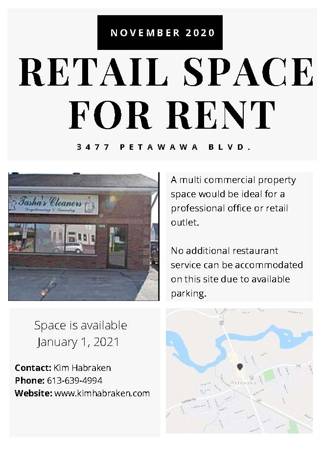 retail space listing - image of property details