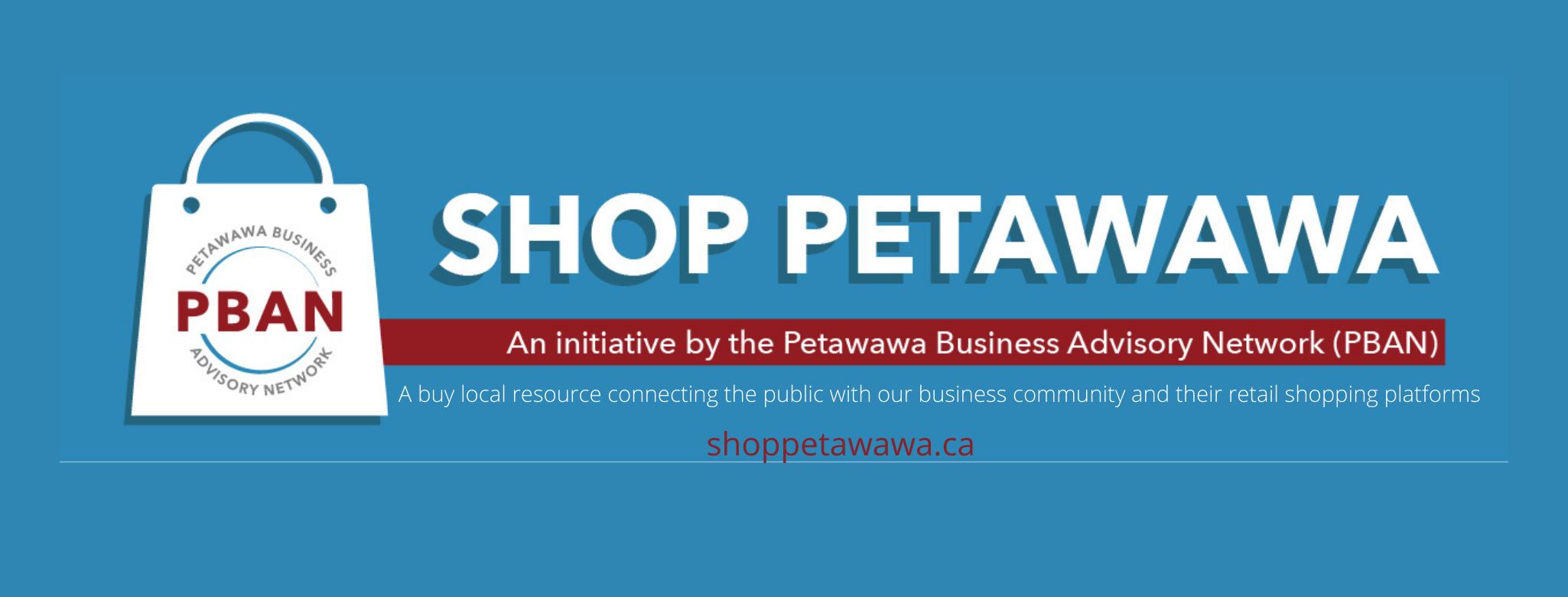 Shop Petawawa Holiday campaign graphic