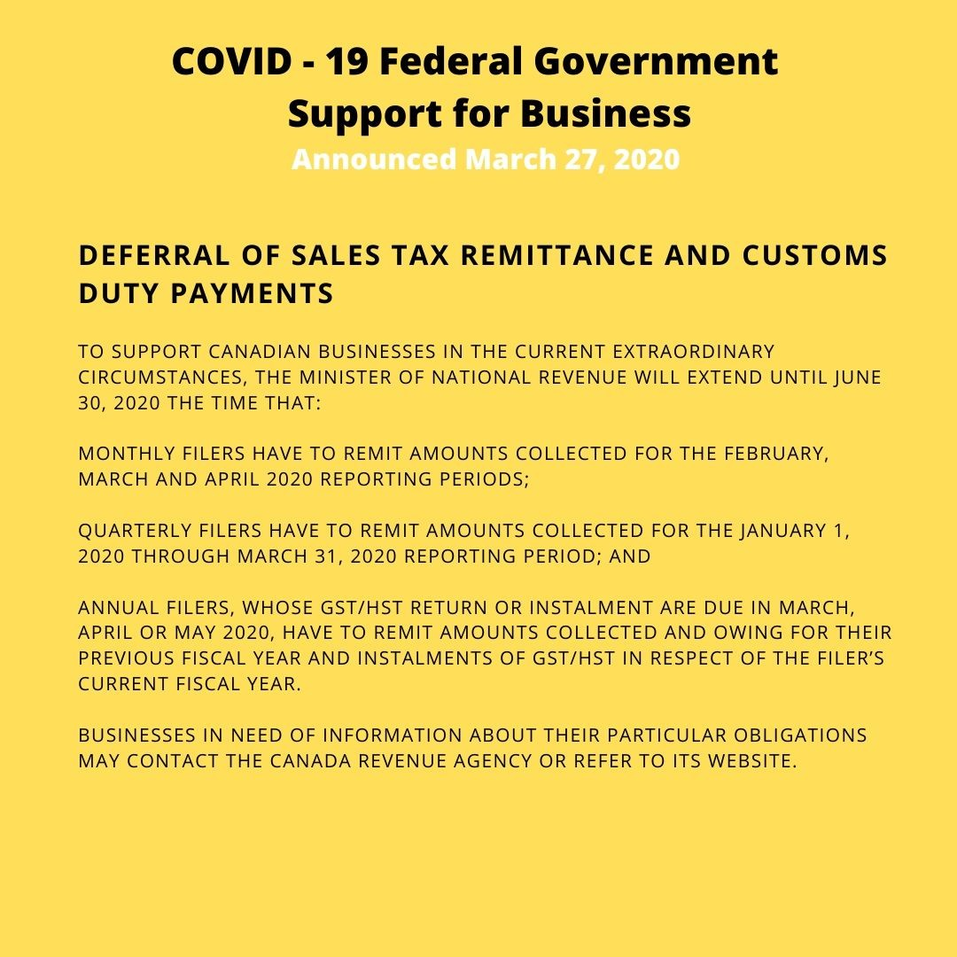 Covid 19 Government Of Canada Emergency Loans For Businesses Ceba The Town Of Petawawa
