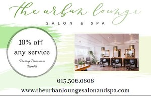<b>Urban Lounge Salon and Spa PR ad</b>
