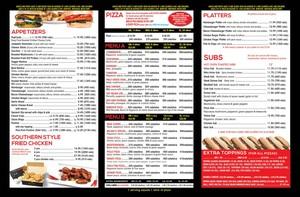 <b>Milano's Pizzeria Petawawa menu side 2</b>