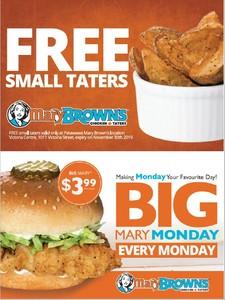 <b>Mary Brown's PR ad</b>