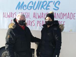 <b>McGuires donuts</b>