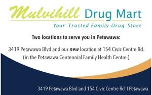 <b>Mulvihill Drug Store PR ad</b>