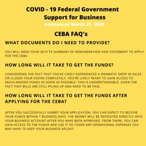 <b>Poster of CEBA FAQs 1</b><br />Poster of CEBA FAQs 1