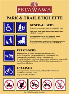 <b>Park Etiquette - Town of Petawawa</b>