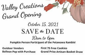 <b>Grand Opening Valley Creations</b>