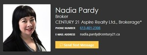 Nadia Pardy, Real Estate Broker